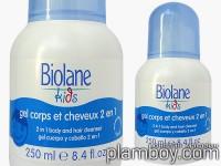 Деликатен душ гел за коса и тяло 2в1 за деца над 3 години- Biolane