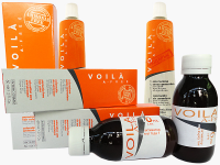 Безамонячна боя за коса професионална - Voila - A-free - 2 бр. ликвидация