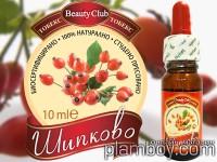Шипково масло, биосертифицирано, 100% натурално, 10 мл. - Тобекс