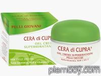 Хидратиращ гел-крем за лице за суха кожа с хиалуронова киселина Cera di Cupra - Ciccarelli