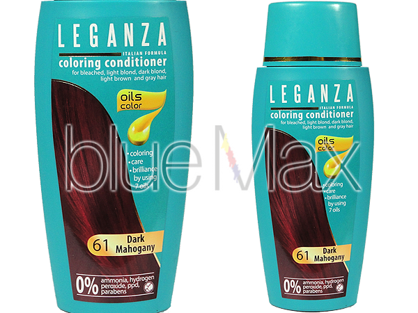 Оцветяващ балсам за коса с натурални масла Leganza - Rosa Impex