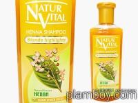 Оцветяващ шампоан за коса интензивен - руса коса - Natur Vital