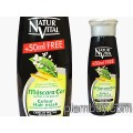 Оцветяваща маска за коса интензивна - черна коса - Natur Vital