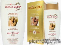 Слънцезащитно мляко за тяло за чувствителна кожа SPF 50 Cera di Cupra - Ciccarelli