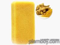 Гъба Конджак за лице за застаряваща кожа с куркума - Konjac Sponge