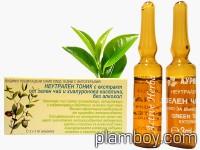 Ампули с екстракт от зелен чай и хиалуронова киселина - Ауриметрия