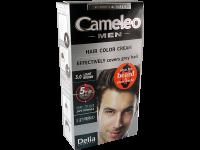 Безамонячна крем-боя за брада и мустаци - 5.0 светло кестенява - Delia