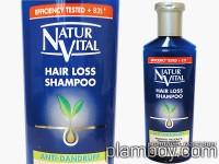 Шампоан против косопад и пърхот - Natur Vital