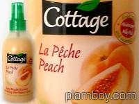 Лосион за тяло с етерични масла и праскова - Cottage