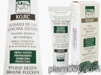 Крем за избелване на тъмни петна и защита на кожата - Kojic - Cytolnat