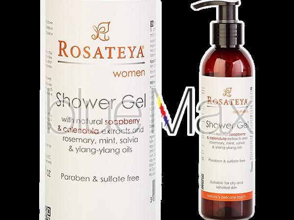Душ гел за жени за суха кожа с екстракт от невен - Rosateya