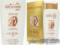 Слънцезащитно мляко за тяло за чувствителна кожа SPF 30 Cera di Cupra - Ciccarelli