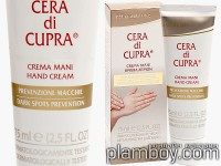 Хидратиращ крем за ръце против пигментни петна Cera di Cupra - Ciccarelli