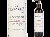 Шампоан за мъже за всеки тип коса с екстракт от живовляк - Rosateya