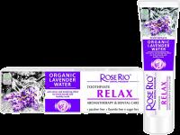 Паста за зъби за релаксираща грижа с органична лавандулова вода Relax - Rose Rio