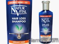 Шампоан против косопад за мазна коса - Natur Vital