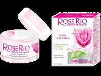 Дневен крем за лице за всеки тип кожа с екстракт от роза - Rose Rio