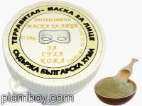 Маска за лице за суха кожа с кафява хума 30 мл. - Terravital