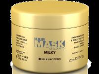 Регенерираща маска за изтощени коси с млечни белтъчини и казеин, 250 мл. Milky - Imperity