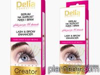 Серум за растеж на мигли и вежди с кератин - Delia