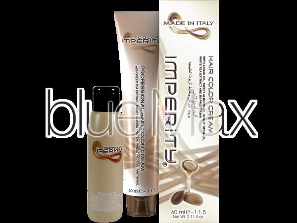 Професионална боя за коса с масло от арган Imperity - Italy - 2 броя + подарък: топ лак на стойност 5,85 лв.