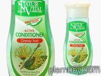 Интензивен балсам за склонна към омазняване коса - Natur Vital