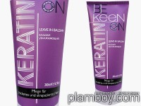 Възстановяващ балсам за суха коса с кератин без отмиване - Keen