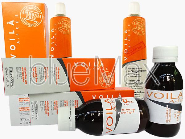 Безамонячна боя за коса професионална - Voila - A-free - 2 бр. ликвидация + подарък
