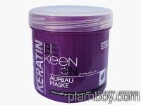 Структурираща маска за всеки тип коса с кератин - Keen