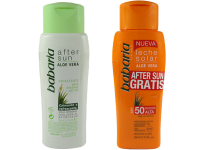 Комплект водоустойчив слънцезащитен лосион и балсам за суха и чувствителна кожа SPF50 - Babaria