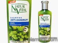 Интензивен фитоактивен шампоан за коса против пърхот-Natur Vital