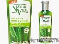 Интензивен шампоан за суха коса с Алое вера - Natur Vital