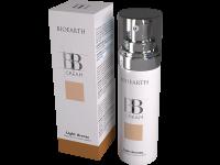 ВВ крем за лице за всеки тип кожа с розово масло Light bronze - Bioearth