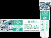 Паста за зъби за укрепване на венците и зъбите с морски минерали и спирулина Natural - Rose Rio