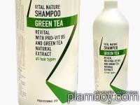 Шампоан за изтощена коса със зелен чай и провитамин В5 - Farcom