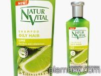 Интензивен шампоан за мазна коса фитоактивен с лимон-Natur Vital