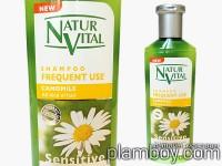 Интензивен фитоактивен шампоан за честа употреба - Natur Vital