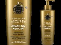 Шампоан-крем парфюм на Lancome с арган и кератин, 250 мл - Imperity