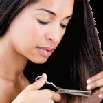 Суха и изтощена, третирана коса (292)