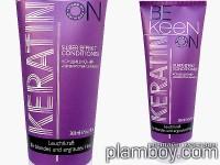 Матиращ балсам за изрусени и сиви коси с кератин - Keen