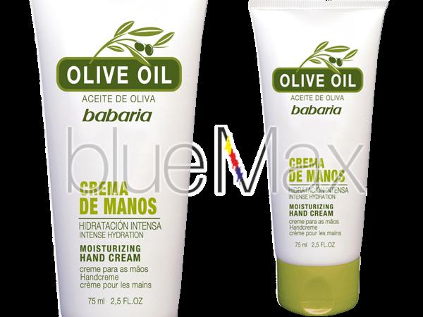Подхранващ и хидратиращ крем за ръце с екстракт от маслина – Babaria