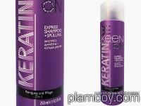 Подхранващ шампоан-балсам за суха и третирана коса с кератин - Keen
