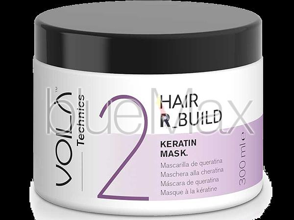 Професионална кератинова терапия за коса в 3 фази, фаза 02 Voila R-Build - EKS
