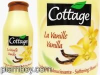 Крем душ-гел за тяло с ванилия - Cottage