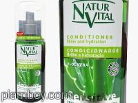 Балсам за всеки тип коса подхранващ с алое вера - Natur Vital
