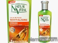Интензивен фитоактивен шампоан за коса с женшен - Natur Vital