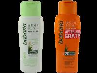 Комплект водоустойчив слънцезащитен лосион и балсам за суха и чувствителна кожа SPF20 - Babaria