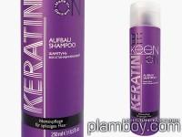 Възстановяващ шампоан за суха и цъфтяща коса с кератин - Keen