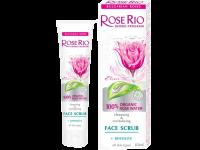 Скраб за лице с био органична розова вода - Rose Rio