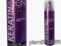 Изглаждащ флуид за къдрава коса с кератин без отмиване - Keen